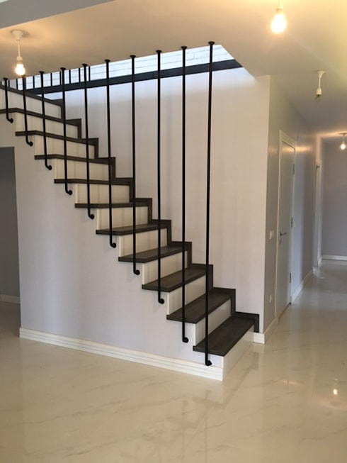 MİMPERA – Merdiven:  tarz Koridor ve Hol