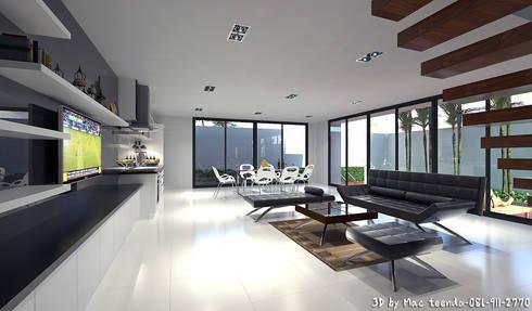 Project-M:  ห้องนั่งเล่น by MaxShop