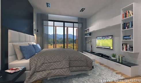 Project-M:  ห้องนอน by MaxShop
