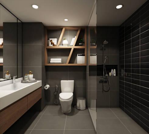 modern Bathroom by 22Augustudio