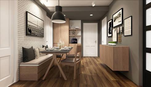 modern Dining room by 22Augustudio