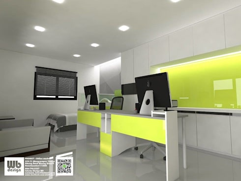 office :  ตกแต่งภายใน by Interior Design WB