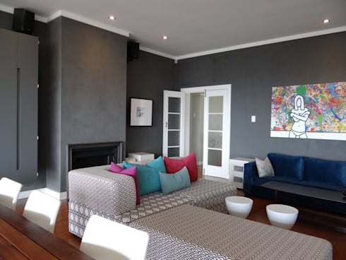Living room: modern Living room by Turquoise