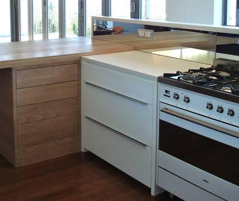 kitchen cabinet detail: modern Kitchen by Turquoise
