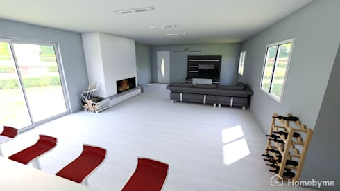 Lounge:   by VAN TONDER NAUDÉ PROPERTY HOLDINGS (PTY) Ltd.