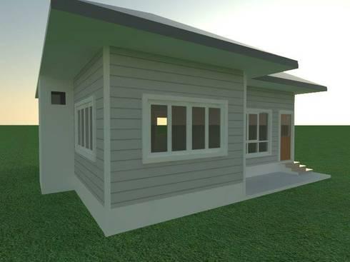 บ้านชั้นเดียว:   by 3P house