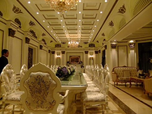 classic Dining room by CASAMIO Co.,Ltd.