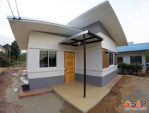 ASAP P23 บ้านชั้นเดี่ยว 3 ห้องนอน 1 ห้องน้ำ:   by Asap Home Builder