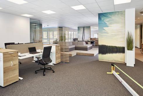 Open Space Büro mit Wohlfühlfaktor by Febrü Büromöbel GmbH | homify