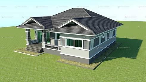 บ้านพักชั้นเดียว คสล. บ้านคุณวรา..:   by nukul