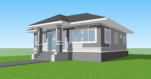 บ้าน คุณ น้อย วงค์สม :   by Worapong-house