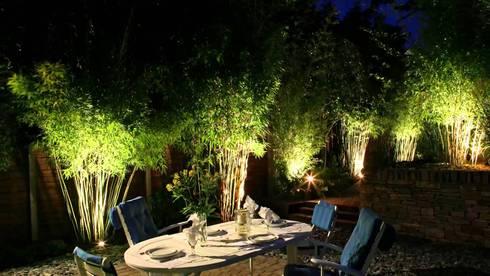 Attractive Garden Lighting:   by Landscaping Pretoria