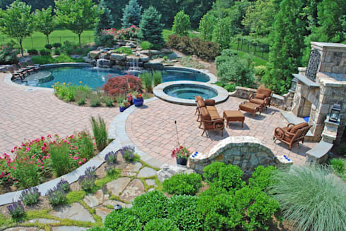 Custom Water Features and Paving:   by Landscaping Pretoria