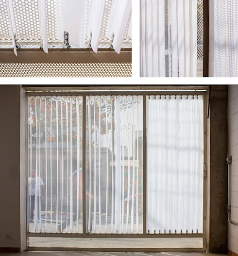 Garajes de estilo moderno por Grupo Garoa Arquitetos associados