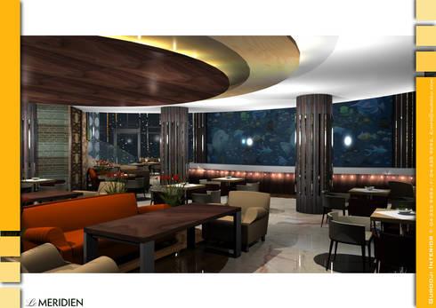 Views Restaurant:  Hotels by Gurooji Design