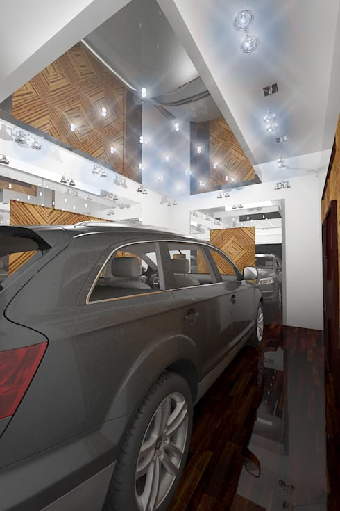 Car Polishing workshop:  Car Dealerships by Gurooji Design