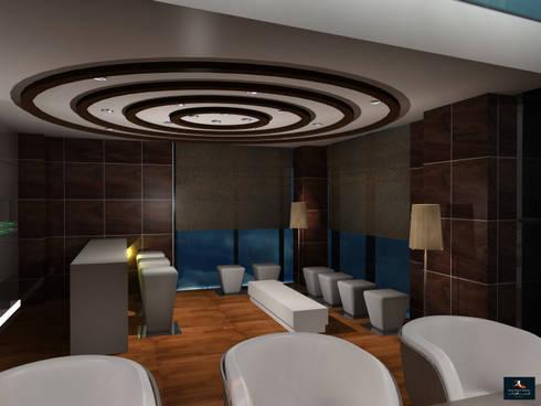 Loft Apartment: modern Dining room by Gurooji Design