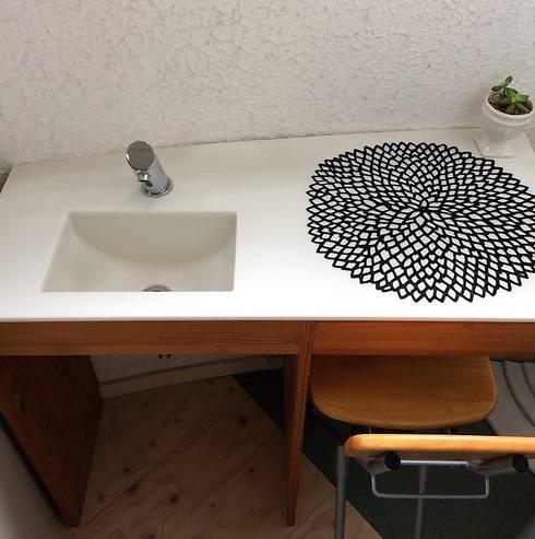 ミニ手洗い台: だいだ産業株式会社が手掛けた洗面所&風呂&トイレです。