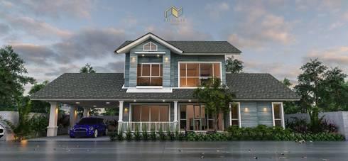บ้านคุณขวัญ 3:   by Ultimate Architect รับออกแบบบ้าน