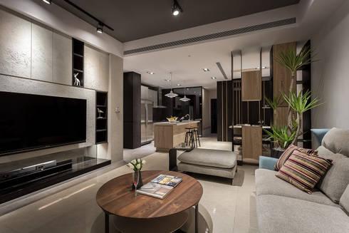 傳承:  客廳 by Heng Yueh 恆岳設計