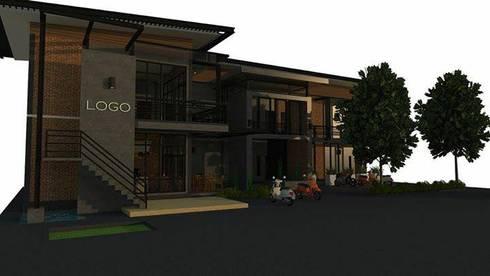 เรียบง่าย. มี. เสน่ห์. Model loft .:   by FULL HOUSE Design