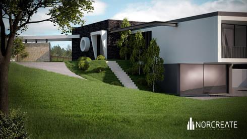 Habitação Unifamiliar J+S:   por NORCREATE - Arquitectura & Engenharia