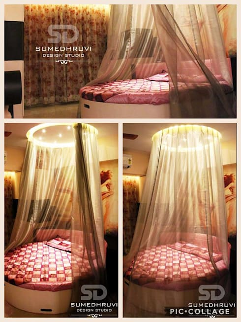 Daughter's Room : modern Bedroom by SUMEDHRUVI DESIGN STUDIO