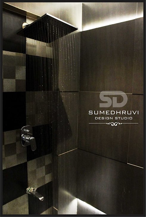 modern Bathroom by SUMEDHRUVI DESIGN STUDIO
