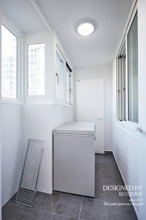 بلكونة أو شرفة تنفيذ 제이앤예림design