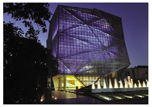 72 SCREENS:  Office buildings by SANJAY PURI ARCHITECTS