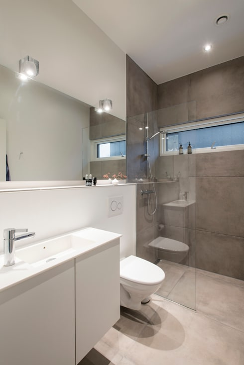 Ванные комнаты в . Автор – C.F. Møller Architects