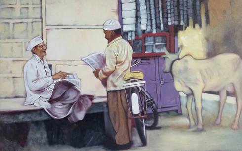 Friends:  Artwork by Indian Art Ideas