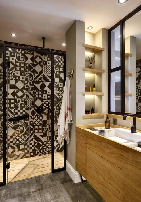 浴室 by Esra Kazmirci Mimarlik