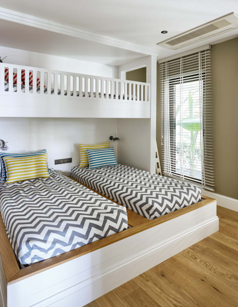 Habitaciones infantiles de estilo  por Esra Kazmirci Mimarlik