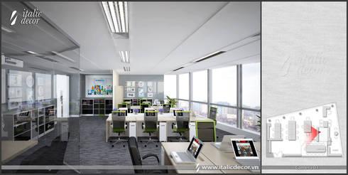 VĂN PHÒNG HITEJINRO:  Phòng học/Văn phòng by ITALIC DECOR