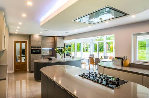 Kitchen/Diner: modern Kitchen by James Rowland Photography