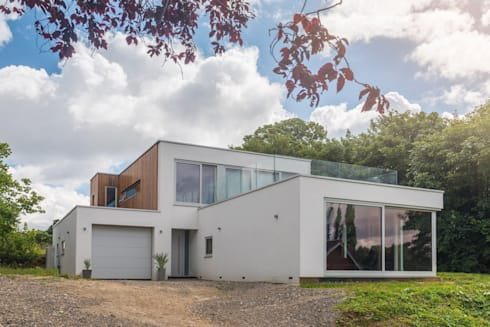 Modern House: modern Houses by James Rowland Photography