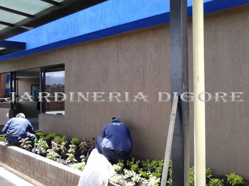 JARDINES VERTICALES Y TECHOS VERDES:  de estilo  por JARDINERÍA & SERVICIOS DIGORE S.A.S