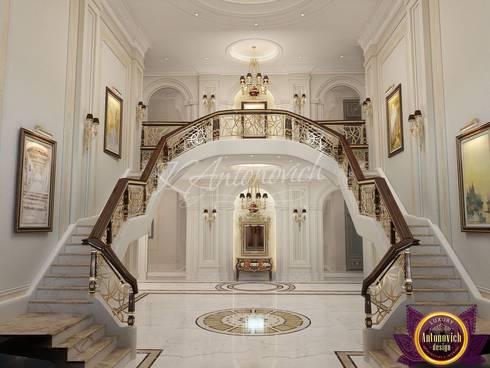 Interior Design in Sri Lanka  from Katrina Antonovich:  Corridor & hallway by Luxury Antonovich Design