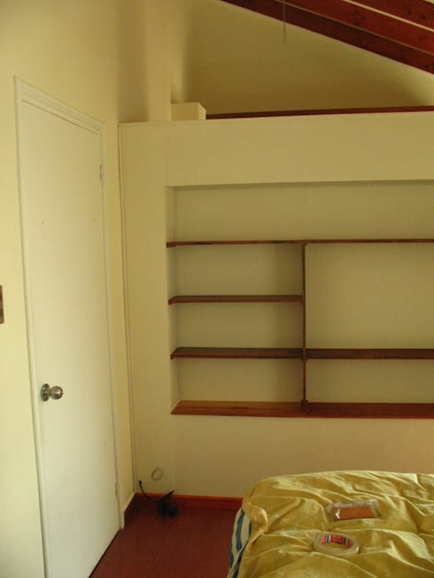Vestidores y closets de estilo moderno por Araya-Paillas Arquitectura Integral