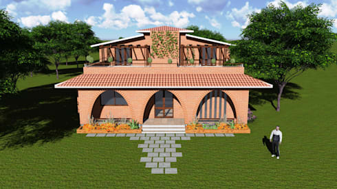 Bungalow:   by Ingenious designs