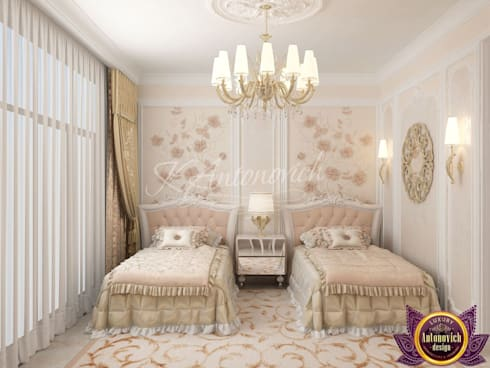   Children's room Design  of Katrina Antonovich: classic Bedroom by Luxury Antonovich Design