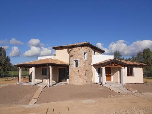 Realizzazione casa in bioedilizia costruita in legno con - Tecnologia in casa ...