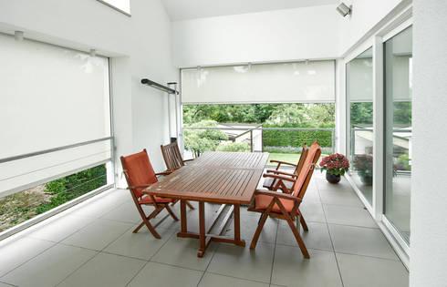 Sonnenschutz für Fenster+Fassade: klassische Esszimmer von Markisen Zanker