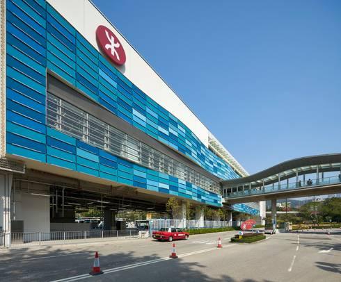 MTR Ocean Park Station, Hong Kong:   by Aedas