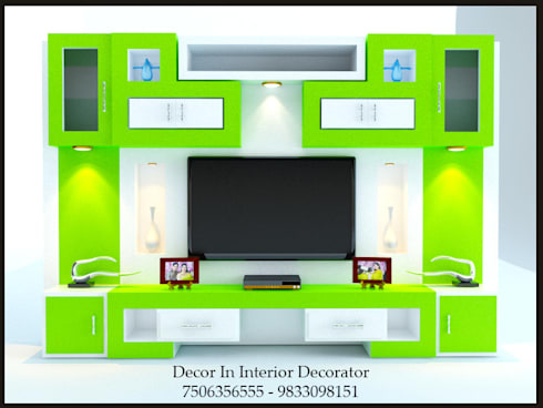 Tv Unit: modern Living room by Decor In Interior Decorator