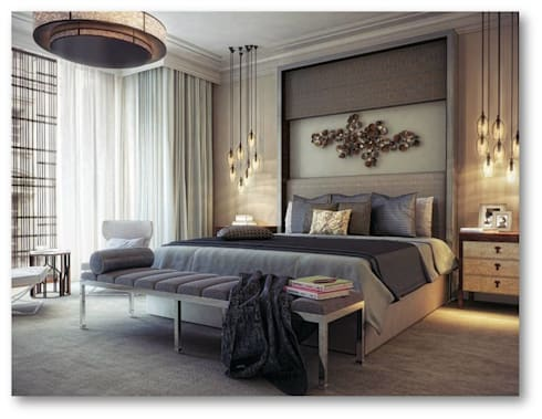classic Bedroom by Mithi Interiors Private Limited