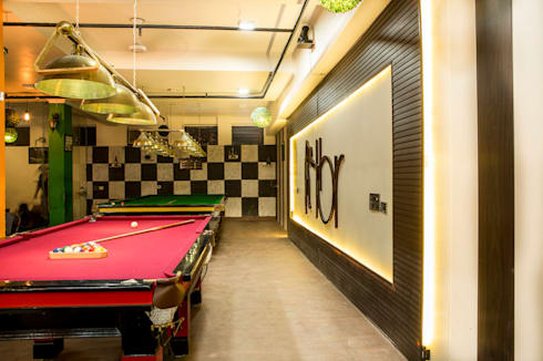 Cafe Design:  Bars & clubs by Prodigy Designs
