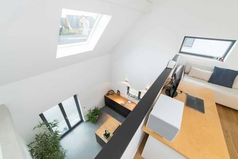 transformation einer doppelhaush lfte bj 1956 k ln kfw. Black Bedroom Furniture Sets. Home Design Ideas