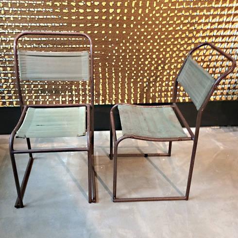 Bruno Pollak Stühle:  Geschäftsräume & Stores von RICCIO